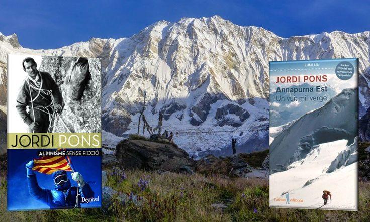 Jordi Pons, alpinisme sense ficció i Annapurna Est,un cim verge Presentació del llibres a càrrec de l'autor i alpinista Jordi Pons, acompanyat de la resta de companys de la expedició que van coronar l'Annapurna Est. Dimecres 22 de febrer a les 8 del vespre a la Llibreria Horitzons. Important: cal confirmació d'assistència a info@libreriahoritzons.com ,...