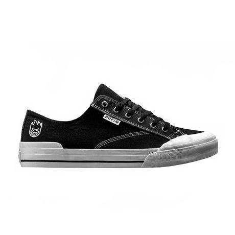 Huf Men's Huf X Spitfire Classic Lo Shoes - Black
