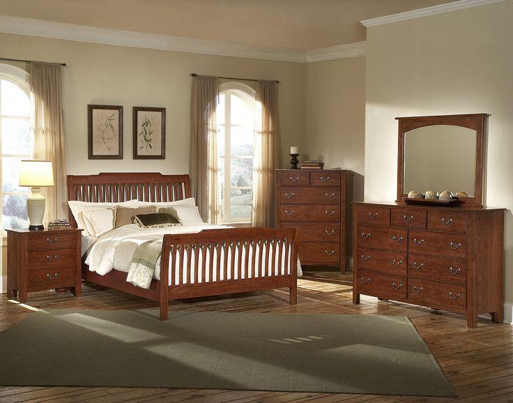 Vaughan bassett furniture appalachian hardwood simply cherry collection interiordesign for Discontinued bassett bedroom furniture