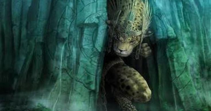 Tepeyóllotl es considerado el dios en forma de jaguar que corresponde a una de las manifestaciones de Tezcatlipoca, conclusión a la que se ha llegado a causa de su representación física, ya que lleva consigo el espejo humeante y el anauatl o pectoral característicos de la imagen de Tezcatlipoca. También se le conoce como el dios de los terremotos y perturbaciones sísmicas de acuerdo al intérprete del Códice Telleriano-Remensis, cuyo nombre se desconoce.