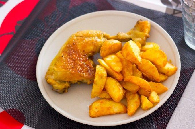 Receta fácil con explicación detallada y fotografías de todos los pasos a seguir para preparar un pollo braseado en cazuela riquísimo.
