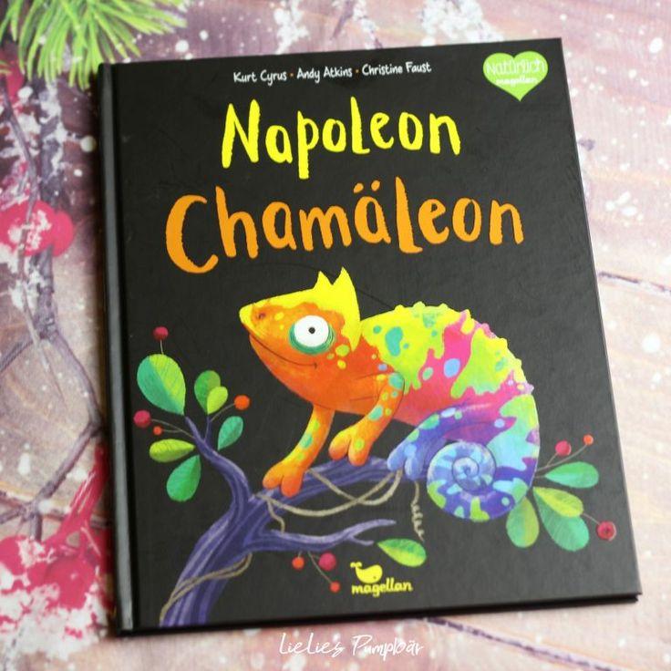 kinderbuch  napoleon chamäleon  lielie´s pumpbär