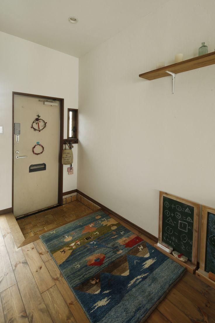玄関ラグって重要です!風水的にもおしゃれにも・・・|SUVACO(スバコ) リフォーム・リノベーション会社:スタイル工房「S邸・DIYを楽しむ!」