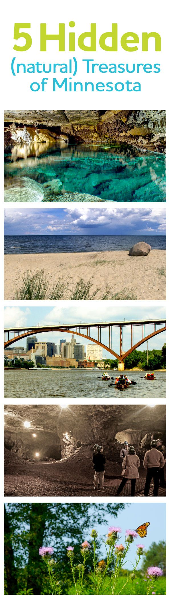 You'll never believe these 5 places actually exist in Minnesota. Who knew we had white sandy beaches?!