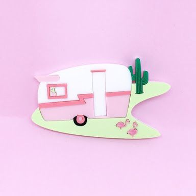 Image result for deer arrow Palm Springs Camper Brooch