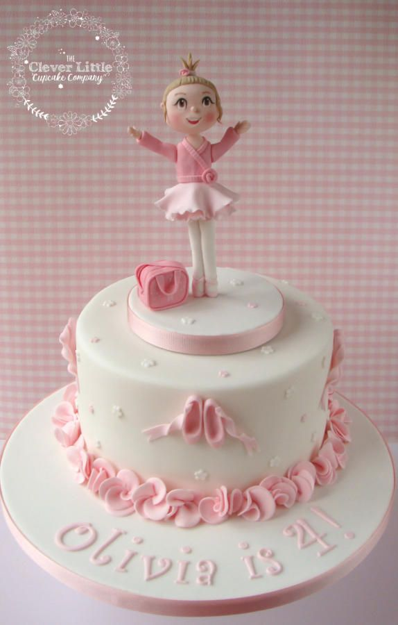 Ballerina cake by the clever little cupcake company for Ballerina cake decoration