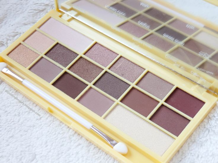 Review: I Heart Makeup Naked Chocolate eyeshadow palette