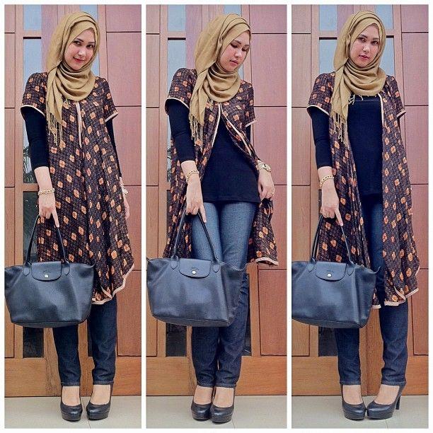 Hijab and Batik love it