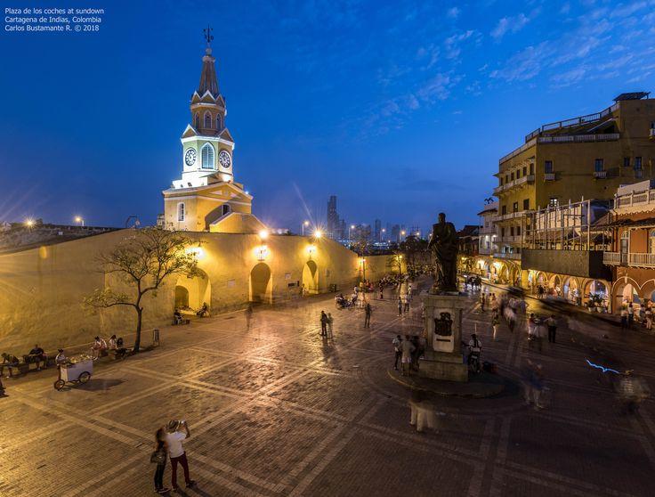 https://flic.kr/p/22eBSfE | Plaza de los Coches at sundown