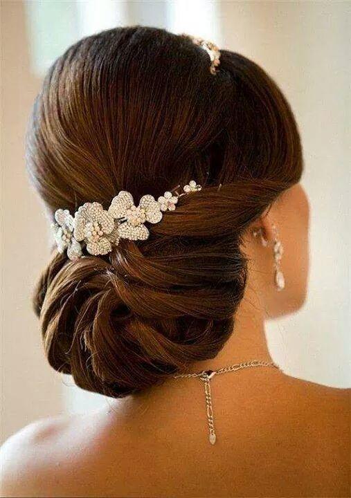 Aquí os dejo un peinado para que la novia derroche estilismo el día de su boda