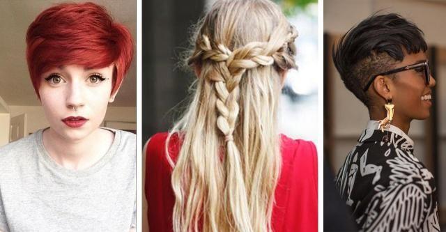 Fryzury 2017 - przegląd propozycji dla długich i krótkich włosów #FRYZURY #KRÓTKIE #KRÓTKIE #WŁOSY #DŁUGIE #DŁUGIE #WŁOSY