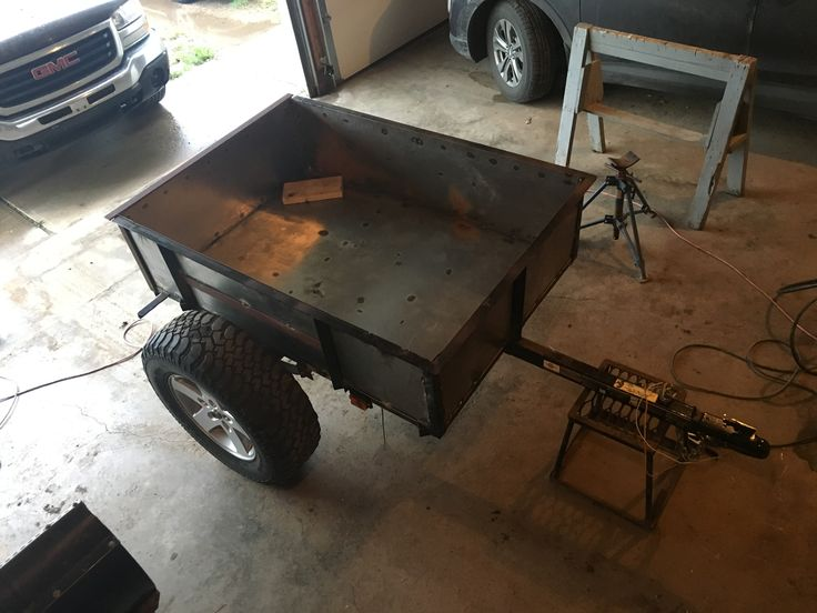 Sides welded up