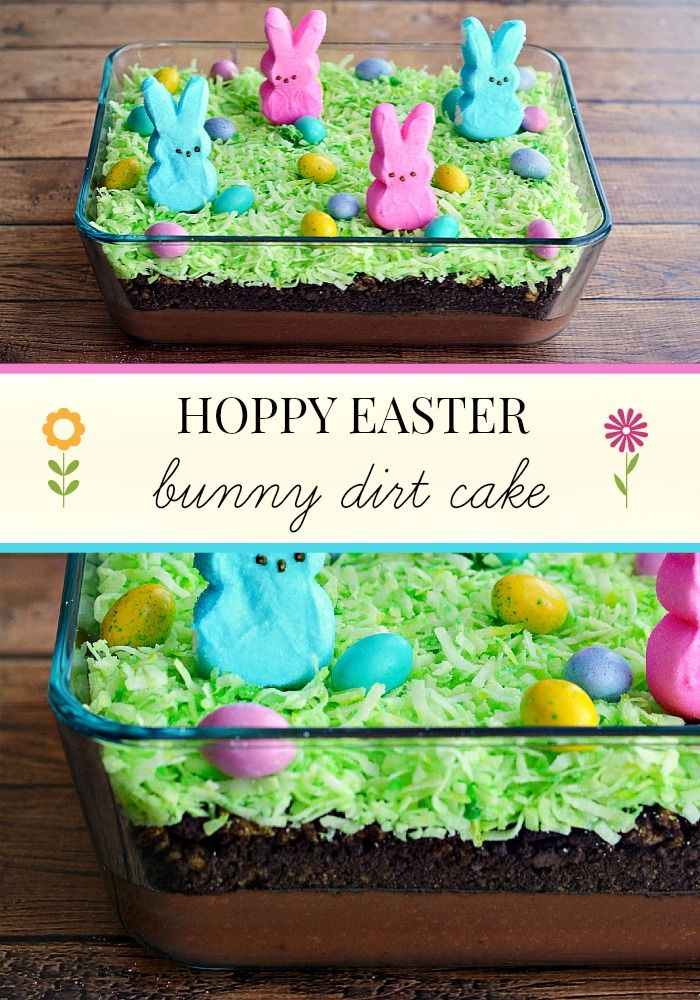 Hoppy Easter Dirt Cake