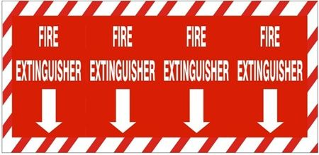 Fire Extinguisher Column Sign, Marking fire equipment is one of the most important ways to prepare your facility for an emergency. Description from safetysupplywarehouse.com. I searched for this on bing.com/images