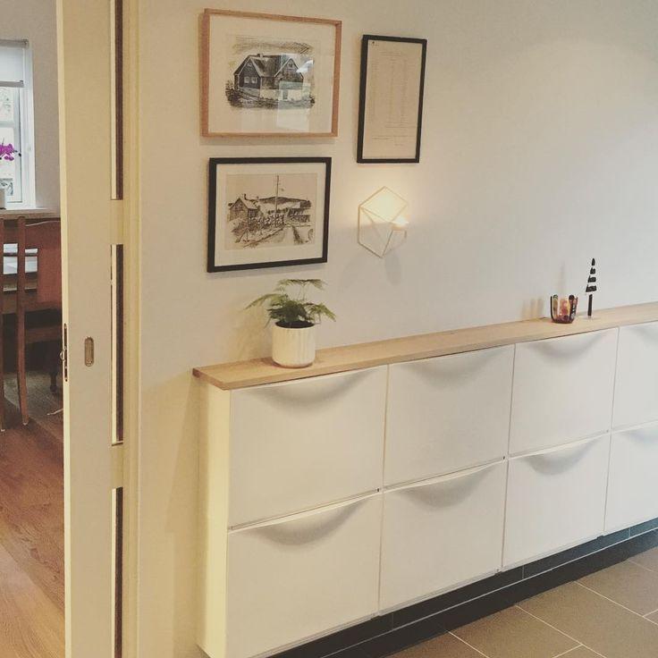 Eingebaute Hack-Ideen von IKEA für einen Schrank und eine Kücheninsel