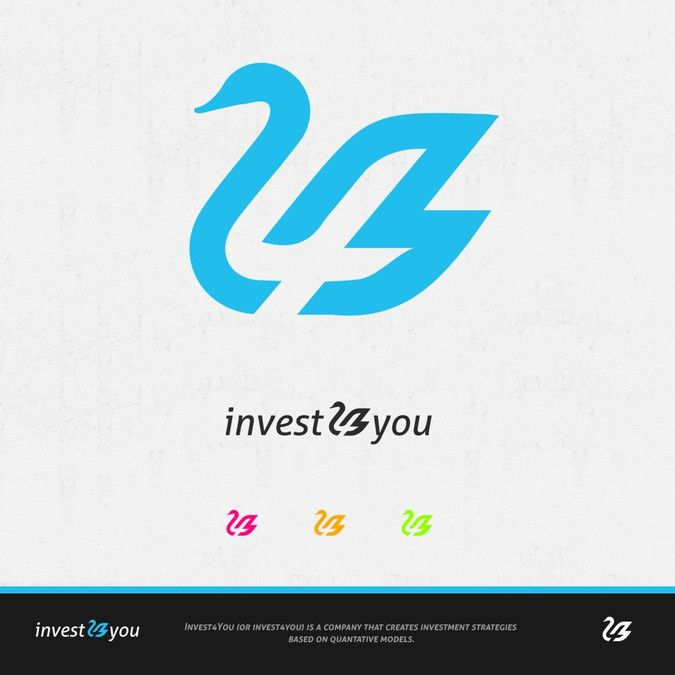 Create a new logo for invest4you (logo of a black swan?) by Designer-X