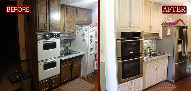 21 best kitchen cabinet refacing images on pinterest for Cabinet refacing price range