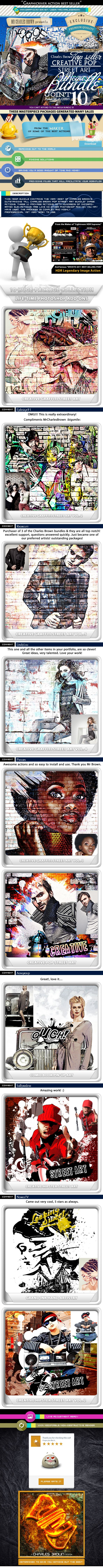All Charles Brown's Pop Street Art Bundle #photoeffects #ps #action Download: http://graphicriver.net/item/all-charles-browns-pop-street-art-bundle/6778757?ref=ksioks