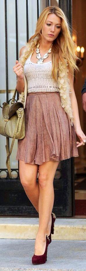 Serena van der Woodsen style Gossip Girl