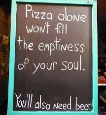 I believe so but in my place in the sun (Davao City), the pizza restaurants do not serve beer.