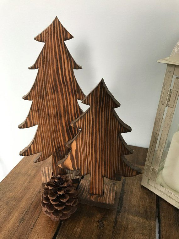 Wooden Pine Tree Cutout Rustic Decor Simple Home Decoration Simple Home Decoration Rustic Decor Home Goods Decor