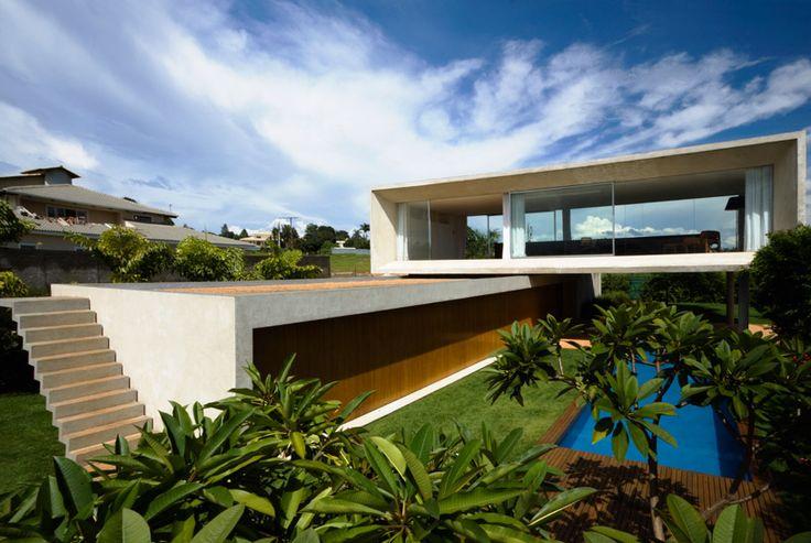 House marcio kogan architecture homes modern house architecture design