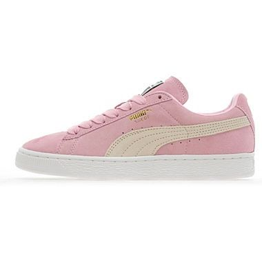 Pink puma suede- Just bought these - lush with summer dresses :)