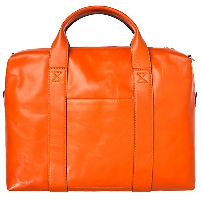 The unconventional briefcase. Jack Spade Leather Briefcase