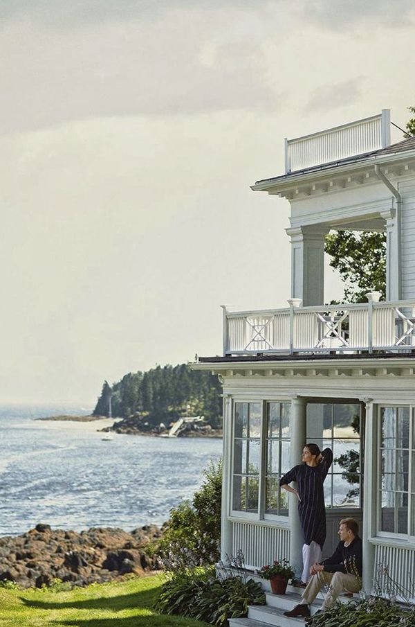 Marina Rust Connor's Family Home in Maine | 10 Best Beach House Getaways | Camille Styles