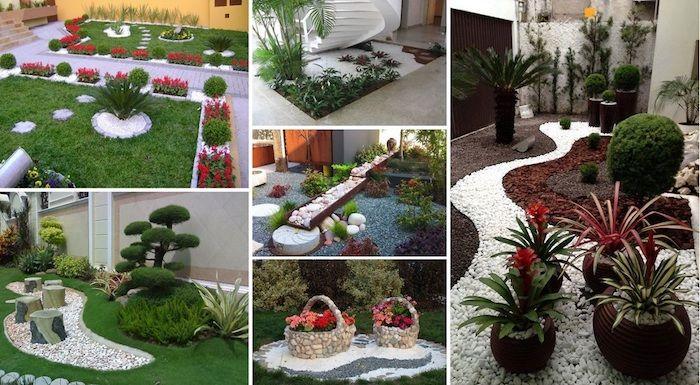 1001 mod les de parterre de fleurs avec galets jardinage pinterest jardins fleurs and. Black Bedroom Furniture Sets. Home Design Ideas