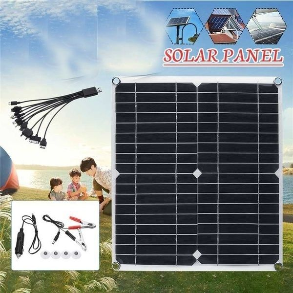 Peak Power 400w Solar Panel Single Panel 50w With 10 60a 12v 24v Controller Pwm Solar Panel Charging Controller For Rv Marine Lcd Display Wish In 2020 Solar Panels Solar Display