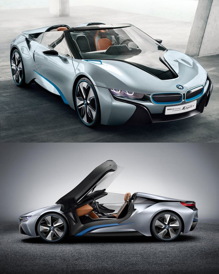 BMW i8 Spyder it's a real car, and will go out on the market soon!