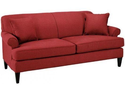 Custom Avery Sofa - Sofa, Red-Home And Garden Design Ideas