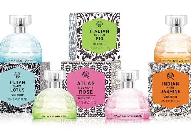 The Body Shop has added new scents to its Voyage Collection.