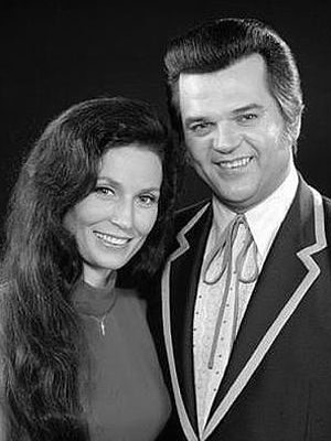 """1973 - Loretta Lynn  Conway Twitty....I'm going old school country today and listening to some of my favorites by Conway Twitty....what a great love song """"crooner"""" he was!!!   Sweet sweet sweet!!!!"""