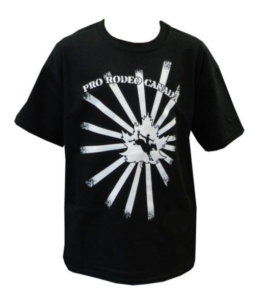 Youth CPRA Tee - Black tee with white CPRA screenprint on front.    100% Pre-Shrunk Cotton