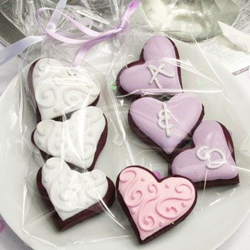 22 best images about Wedding cookies on Pinterest   Heart ...
