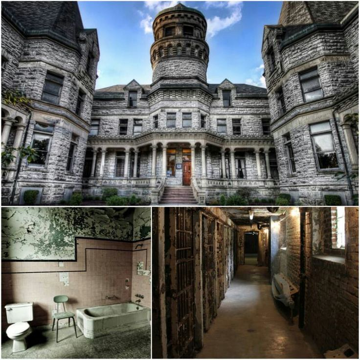 Mansfield Reformatory. Mansfield Ohio. Featured In