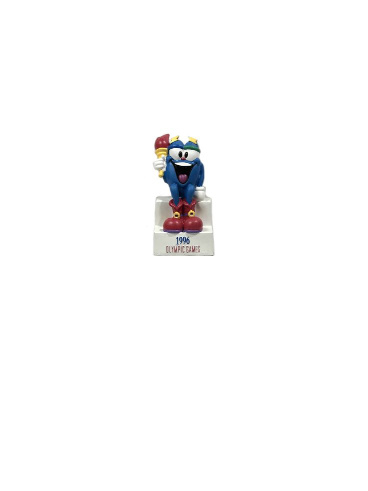 Going fast! Get your hands on 1996 Atlanta Olympics Izzy Mascot Bank while you can! 🙌 https://www.etsy.com/listing/546711468/1996-atlanta-olympics-izzy-mascot-bank?utm_campaign=crowdfire&utm_content=crowdfire&utm_medium=social&utm_source=pinterest