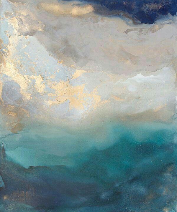 Sun Break Or Saint Helena By Julia Contacessi Acrylic On Canvas