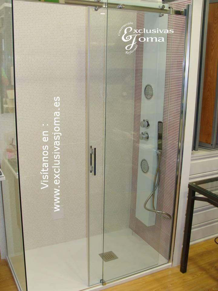Ambiente de ba o compuesto por plato de ducha de la firma - Duchas efecto lluvia ...