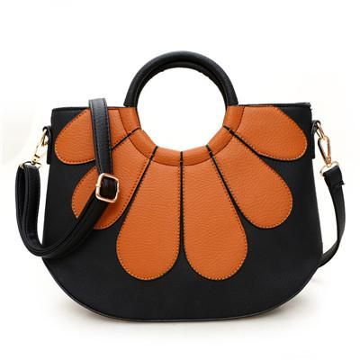 A very classy YBYT brand 2018 new fashion PU leather patchwork shell bags hotsale ladies shopping handbags shoulder messenger crossbody bags.
