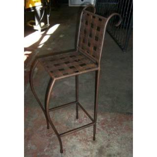 Butacas altas hierro forjado sillas metal pinterest - Butacas altas ...