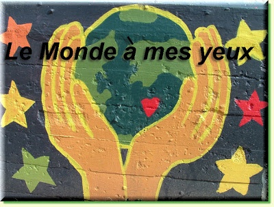 La Chanson de dimanche - Le monde à mes yeux.  Free printable/projectable activities & conversation starters for your French class based on a current francophone song. Visit Teaching FSL each week for a new featured song! http://teachingfsl.blogspot.com
