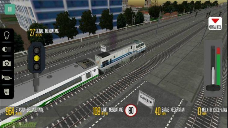 Simulator Kereta Api Indonesia (Gambir - Bandung) - Indonesian Train Sim...