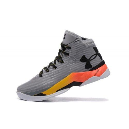 Veste Under Armour Curry 2.5 Gris Noir Pas Cher Nouveau Homme Chaussure De  Basket France
