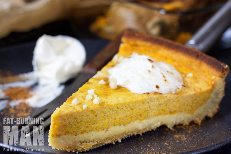 The Perfect Fat-Burning Pumpkin Pie | Fat-Burning Man