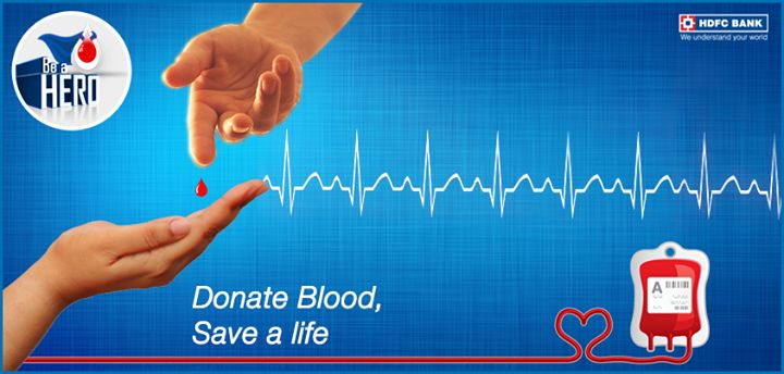 Are you ready to save a life & bring out the hero in you? Pledge your Support to #donateblood & #BeAHero.