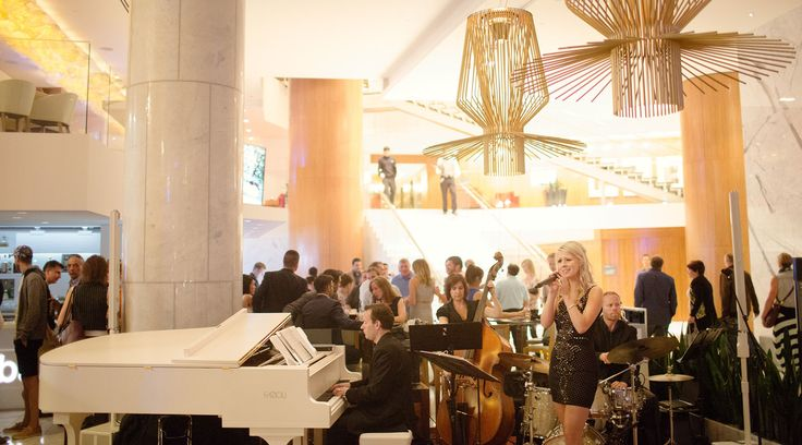 Visit the Lobby Lounge at Fairmont Pacific Rim for live music six days a week
