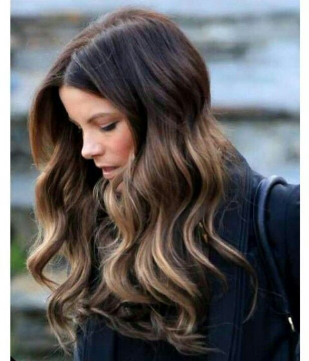 Brown Hair With Caramel And Honey Highlights Medium brown hair with ...